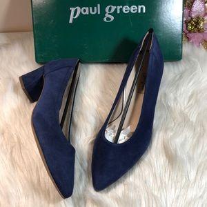 Paul Green Women's Tammy Block-Heel Pumps 8.5